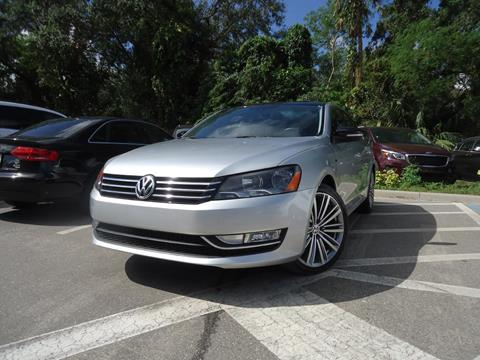 2015 Volkswagen Passat for sale in Seffner, FL