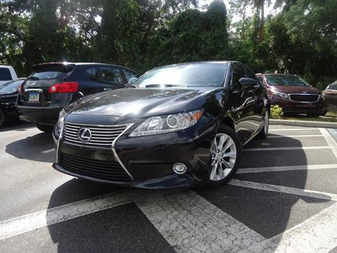 2014 Lexus ES 300h for sale in Seffner, FL