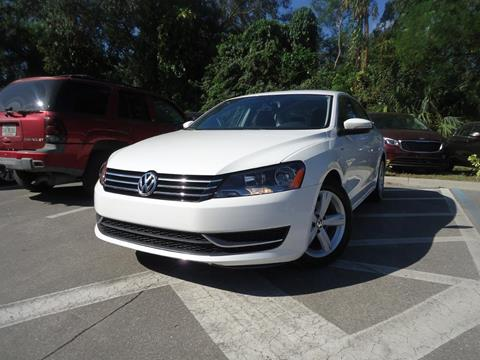 2014 Volkswagen Passat for sale in Seffner, FL