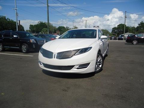 2016 Lincoln MKZ for sale in Seffner, FL