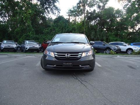 2015 Honda Odyssey for sale in Seffner, FL