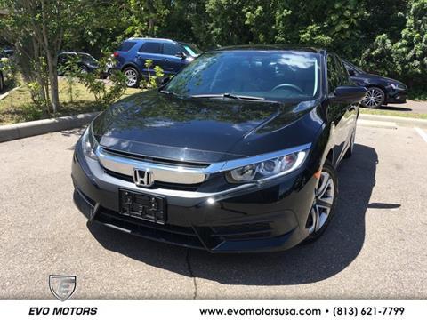 2016 Honda Civic For Sale >> 2016 Honda Civic For Sale In Seffner Fl