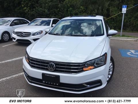 2016 Volkswagen Passat for sale in Seffner, FL