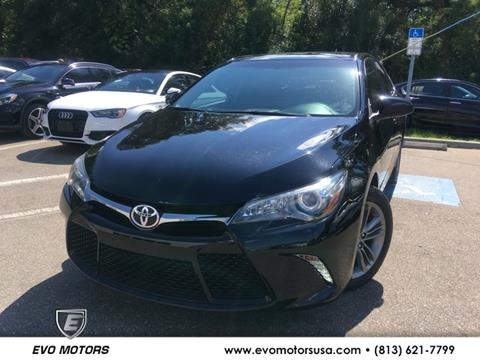 2016 Toyota Camry for sale in Seffner, FL