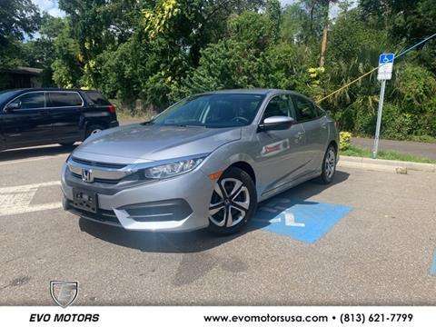 2016 Honda Civic for sale in Seffner, FL