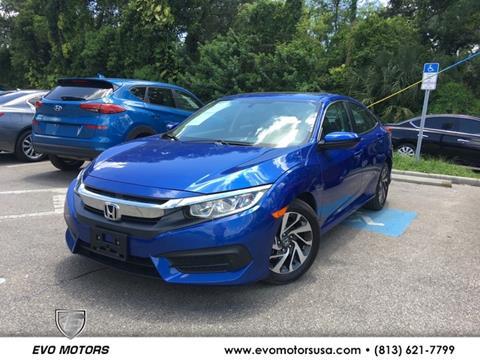 2017 Honda Civic for sale in Seffner, FL