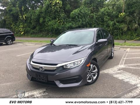 2016 Honda Civic for sale in Seffner, FL