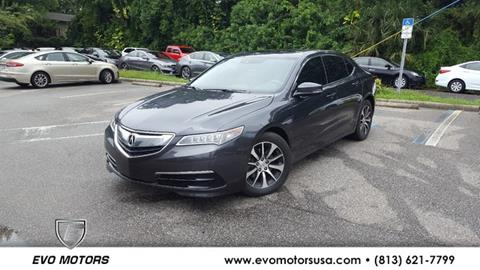 2016 Acura TLX for sale in Seffner, FL