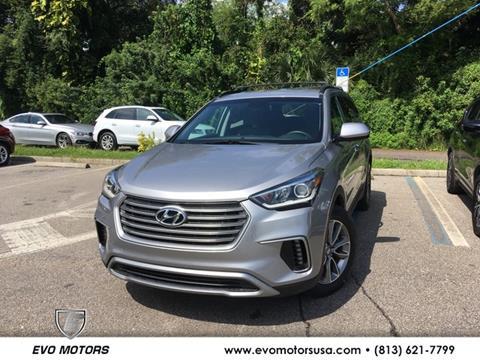2017 Hyundai Santa Fe for sale in Seffner, FL
