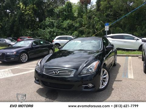 2013 Infiniti G37 Convertible for sale in Seffner, FL