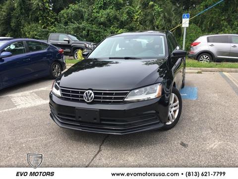 2018 Volkswagen Jetta for sale in Seffner, FL