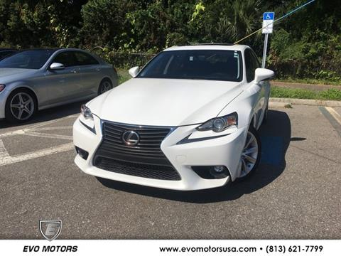 2016 Lexus IS 200t for sale in Seffner, FL