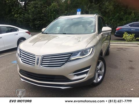 2017 Lincoln MKC for sale in Seffner, FL