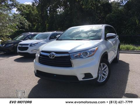 2016 Toyota Highlander for sale in Seffner, FL