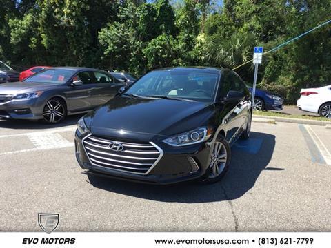 2017 Hyundai Elantra for sale in Seffner, FL