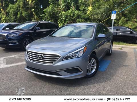 2016 Hyundai Sonata for sale in Seffner, FL
