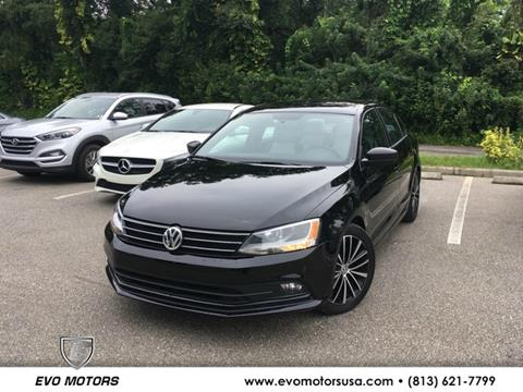 2016 Volkswagen Jetta for sale in Seffner, FL