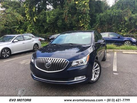 2016 Buick LaCrosse for sale in Seffner, FL