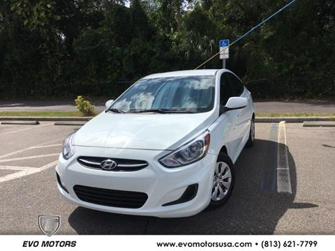2016 Hyundai Accent for sale in Seffner, FL