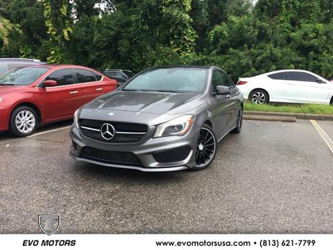 2016 Mercedes-Benz CLA for sale in Seffner, FL
