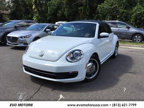 2016 Volkswagen Beetle for sale in Seffner, FL