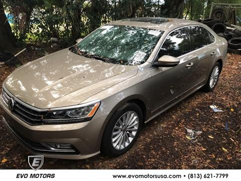2016 Volkswagen Passat for sale in Seffner, FL