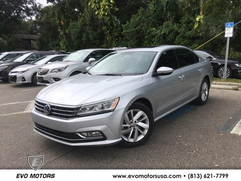 2018 Volkswagen Passat for sale in Seffner, FL
