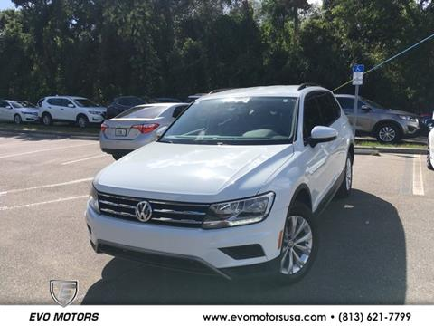 2018 Volkswagen Tiguan for sale in Seffner, FL