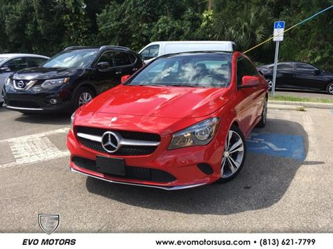 2017 Mercedes-Benz CLA for sale in Seffner, FL