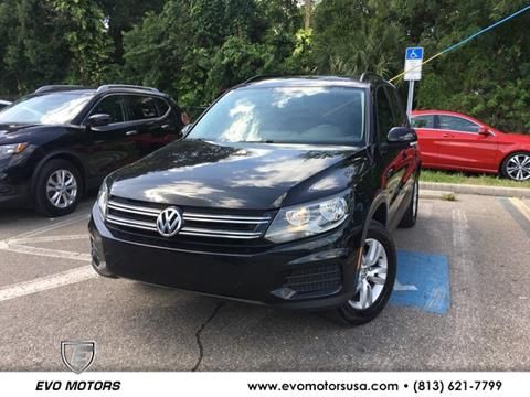 2017 Volkswagen Tiguan for sale in Seffner, FL