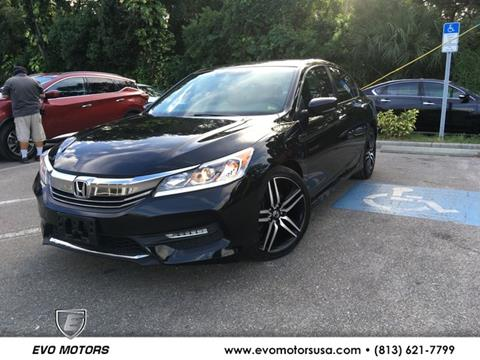 2017 Honda Accord for sale in Seffner, FL