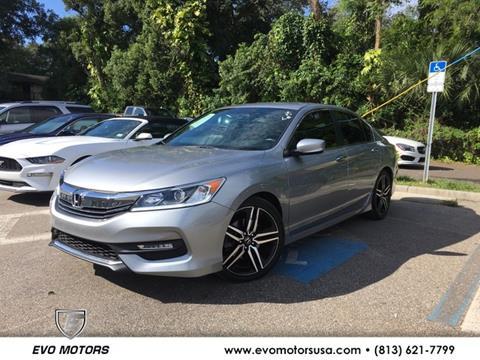 2016 Honda Accord for sale in Seffner, FL