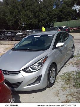 2016 Hyundai Elantra for sale in Seffner, FL