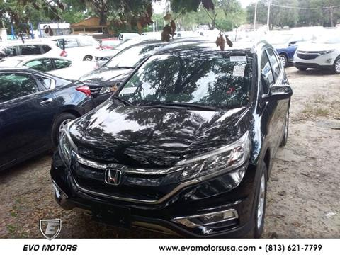 2016 Honda CR-V for sale in Seffner, FL