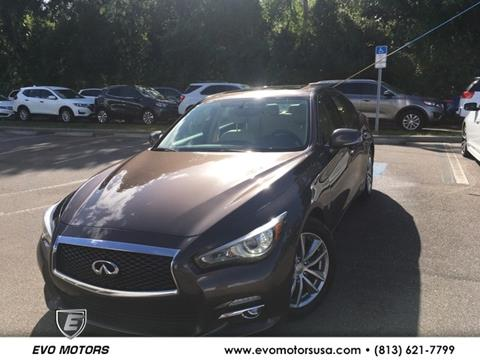 2015 Infiniti Q50 for sale in Seffner, FL