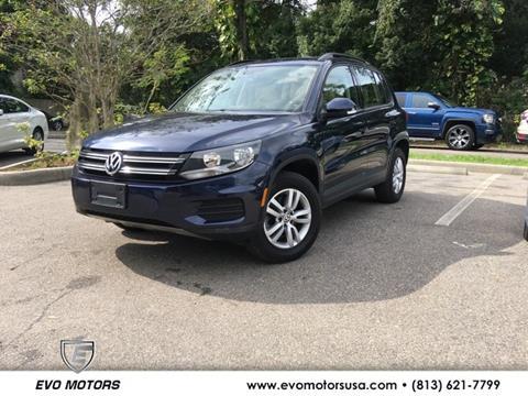 2016 Volkswagen Tiguan for sale in Seffner, FL