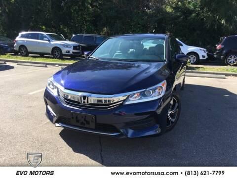2017 Honda Accord for sale in Seffner, FL