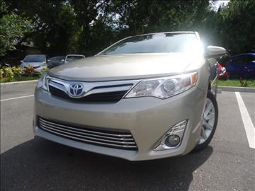 2013 Toyota Camry for sale in Seffner, FL
