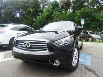 2016 Infiniti QX70 for sale in Seffner, FL