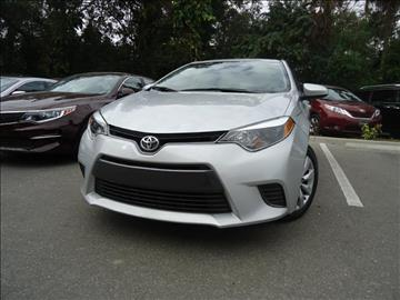 2015 Toyota Corolla for sale in Seffner, FL