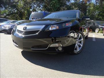 2013 Acura TL for sale in Seffner, FL