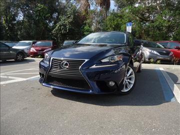 2014 Lexus IS 250 for sale in Seffner, FL
