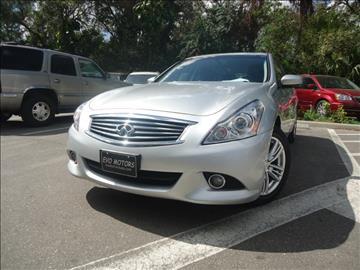 2013 Infiniti G37 Sedan for sale in Seffner, FL