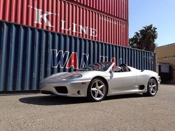 2001 Ferrari 360 Spider for sale in Huntington Beach, CA