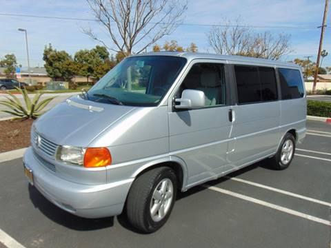2002 Volkswagen EuroVan for sale in Huntington Beach, CA