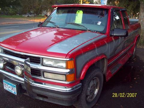 1995 Chevrolet C/K 1500 Series for sale in Stacy, MN