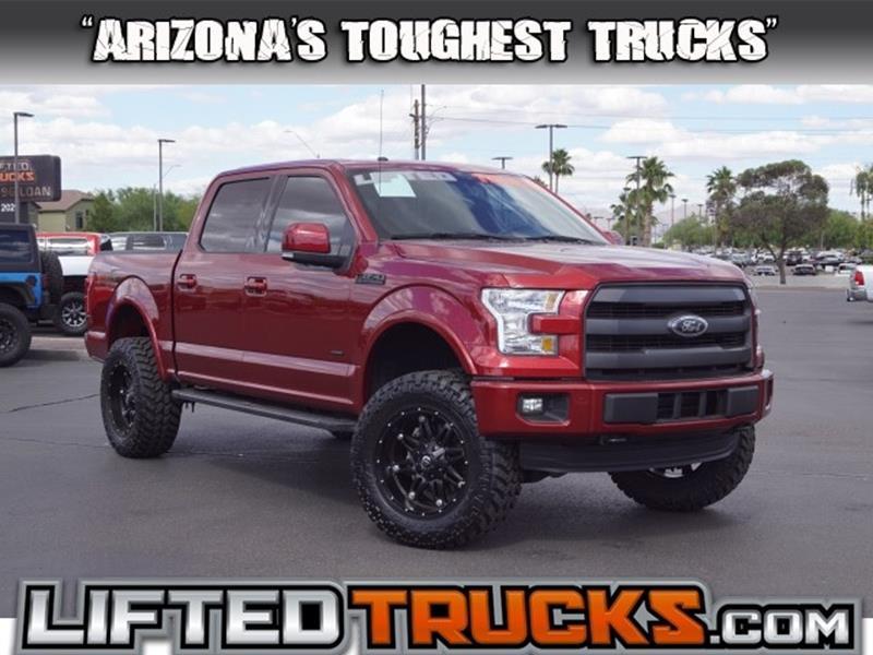 Lifted 2015 F150 >> 2015 Ford F 150 Lariat In Phoenix Az Lifted Trucks