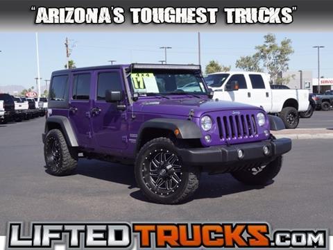 2017 Jeep Wrangler Unlimited for sale in Phoenix, AZ