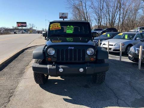 2012 Jeep Wrangler Unlimited for sale in Crown Point, IN