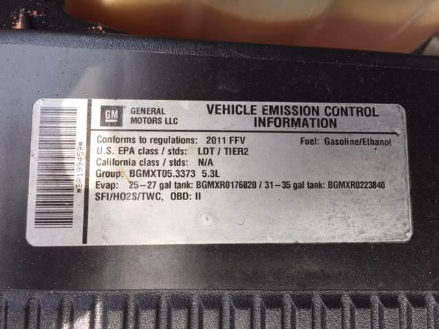 2011 GMC Yukon XL 4x4 SLE 1500 4dr SUV - Greenwood IN